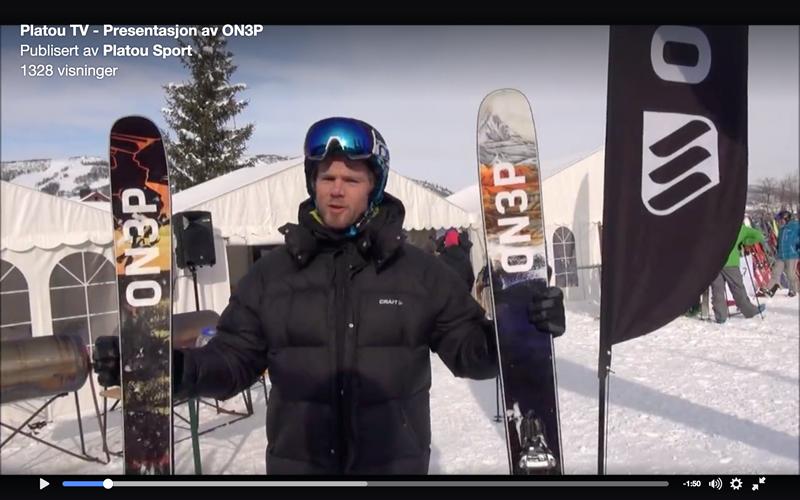 Platou Sport intervjuet oss om våre ON3P ski