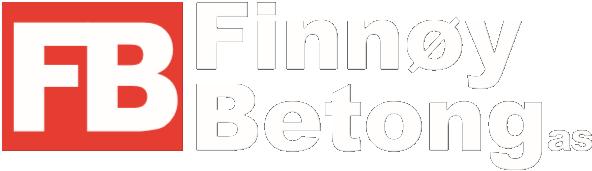 Finnøy Betong AS black logo