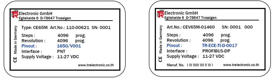 TR Pin Out / การเชื่อมต่ออุปกรณ์