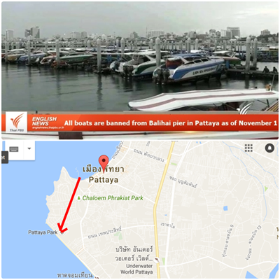 Forbud mot private båter