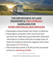 Inter-Provincial Bus Services