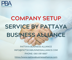 Company Set-Up Services by PBA in Pattaya