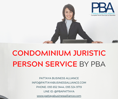 Juristic Person Meetings today in Pattaya