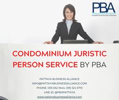 PBA PATTAYA Condominium Juristic Person Service