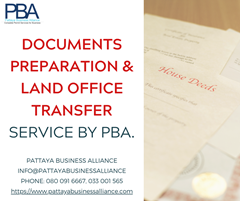 Land Office Transfer at Pattaya by PBA