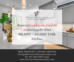 List your Property with Five Star Pattaya
