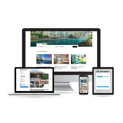 Real Estate Website for THB 2990