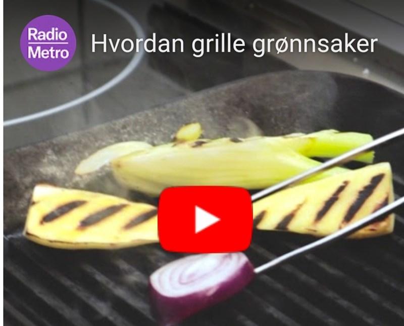 Grilling av grønnsaker