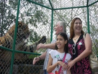 Visit of Sriracha Tiger Zoo