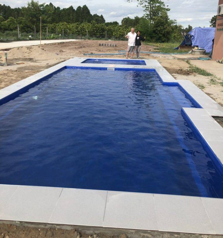 CONTEMPORARY RANGE 8 M WITH SPA POOL