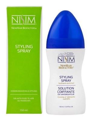 Nisim Hodebunnvennlig Styling Spray med UV filter